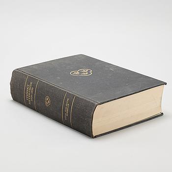 "BOK, ""Svenskt Silversmide 1520-1850"", Nordisk Rotogravyr, Stockholm, 1963, 1 volym."
