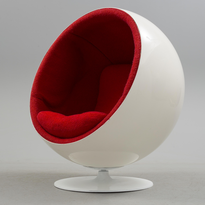 EERO AARNIO, An Eero Aarnio \'Ball chair\', Asko, Finland. - Bukowskis