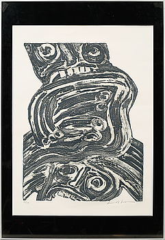 BENGT LINDSTRÖM, carborundumetsning, signerad och numrerad 43/99.