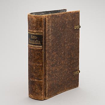 KIRJA/RAAMATTU, Kuva-Raamattu, Jyväskylä 1893.