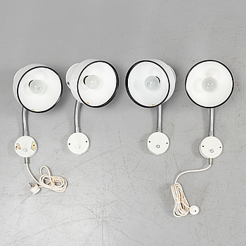 ANDERS PEHRSON, Four Anders Pehrsson 'Bumlingen' wall lamps, for Ateljé Lyktan, Åhus.