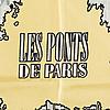 """Scarf, hermès, """"les ponts de paris"""" issued 1952."""