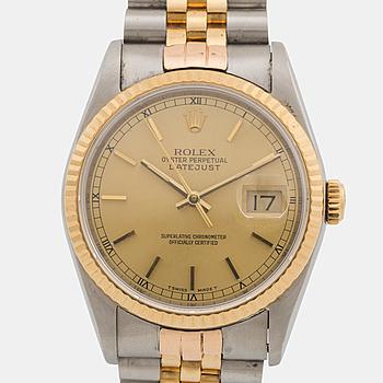 ROLEX, Oyster Perpetual Datejust, armbandsur, 33 mm,
