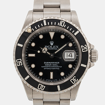 ROLEX, Oyster Perpetual, Submariner, armbandsur,
