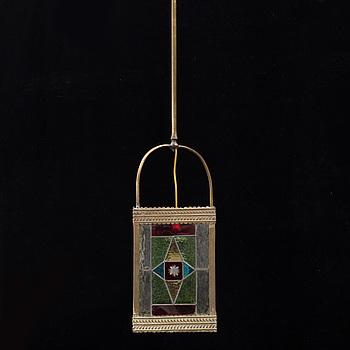 TAKLYKTA, glas och metall, 1900-talets första hälft.
