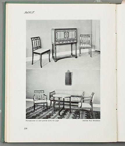 Nils Öfverman, a swedish grace cabinet executed by cabinet maker l. löfberg, stockholm, ca 1930.