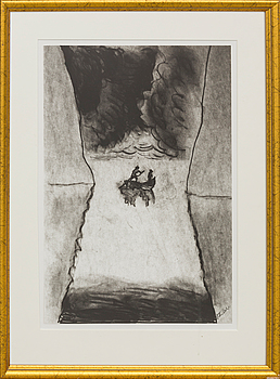 PETER DAHL, PETER DAHL, a signed lithograph.
