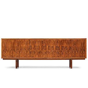 4. SKANDINAVISK FORMGIVARE, sideboard, troligen Danmark 1960-tal.