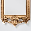 Spegel, av johan Åkerblad (mästare i stockholm 1758-1799), gustaviansk.