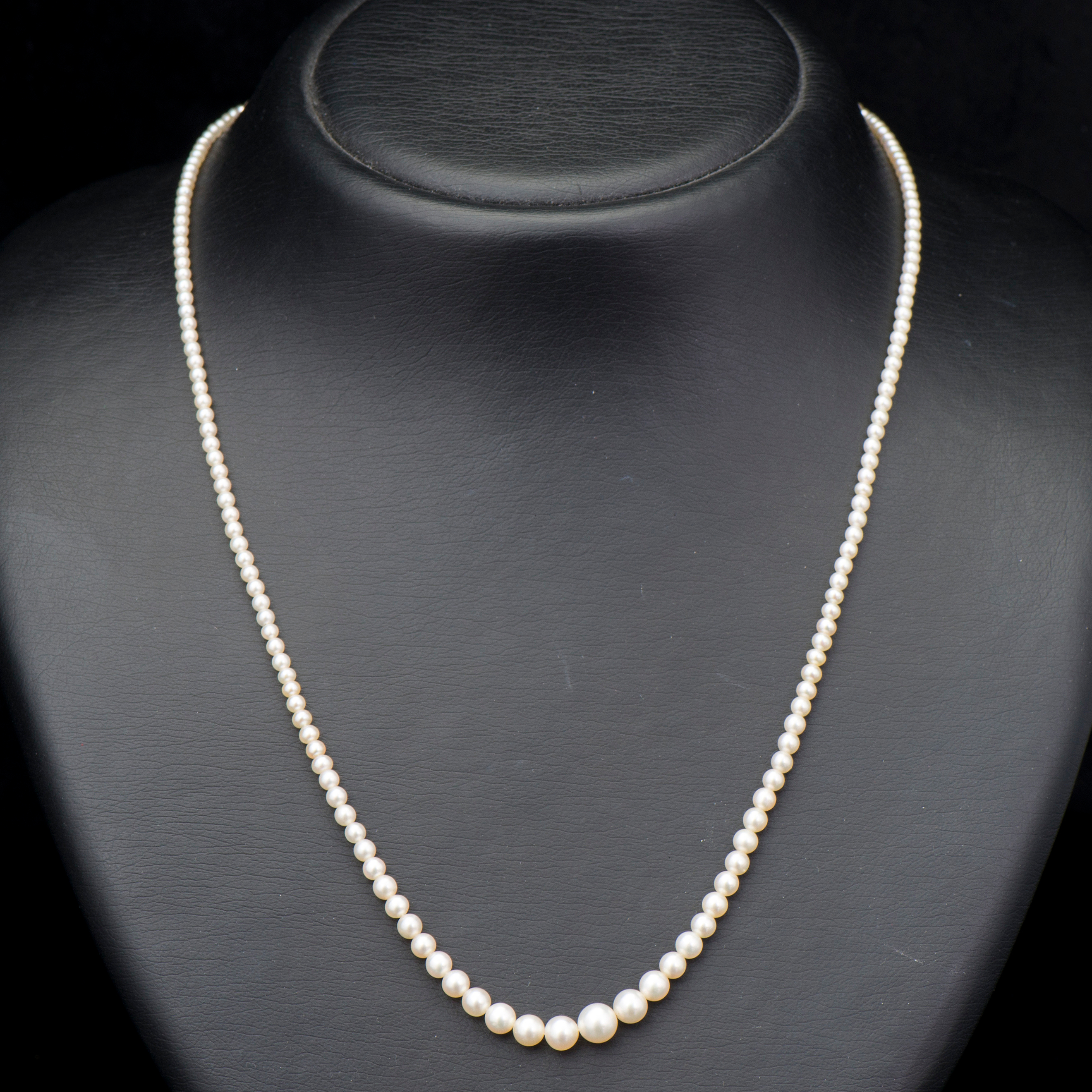 pearl color in pearls necklace sizes yangtze and size mixed freshwater products colors knotted with jewellery store