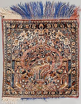 MATTA, Keshan, silke, semiantik, ca 51 x 49 cm.