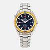 Omega, seamaster professional, planet ocean, co-axial, chronometer, (600m/2000ft), wristwatch, 42 mm,