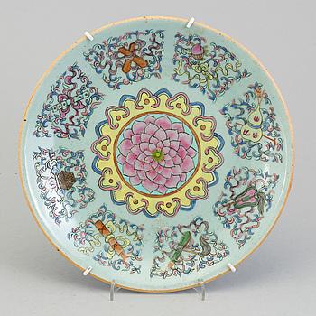 FAT, porslin. Kina, Qingdynastin, Guangxu (1874-1908).
