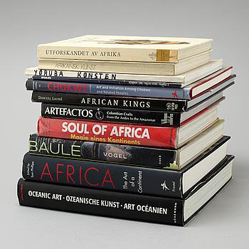 PARTI BÖCKER, 10 st, mestadels afrikana, 1900-tal.