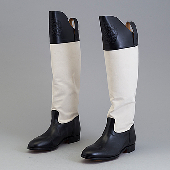 A pair of boots by  Alberto Fasciani, Italien, in size 39,5.