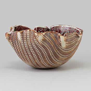BENGT BERGLUND, A Bengt Berglund stoneware bowl, Gustavsberg 1960´s.
