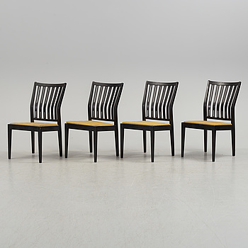 Four Åkerblom chairs, mid 20th Century.