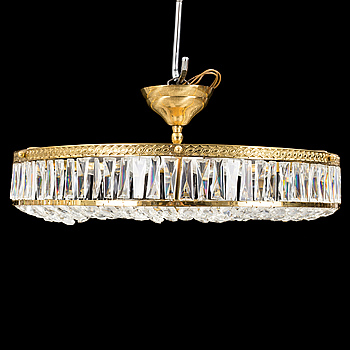 A second half of the 20th century ceiling light.