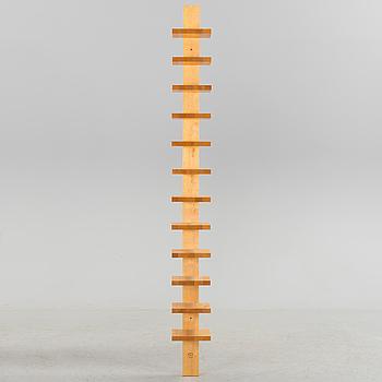 JOHN KANDELL, A 'Pilaster' birch bookcase from Källemo, Värnamo, late 20th Century.