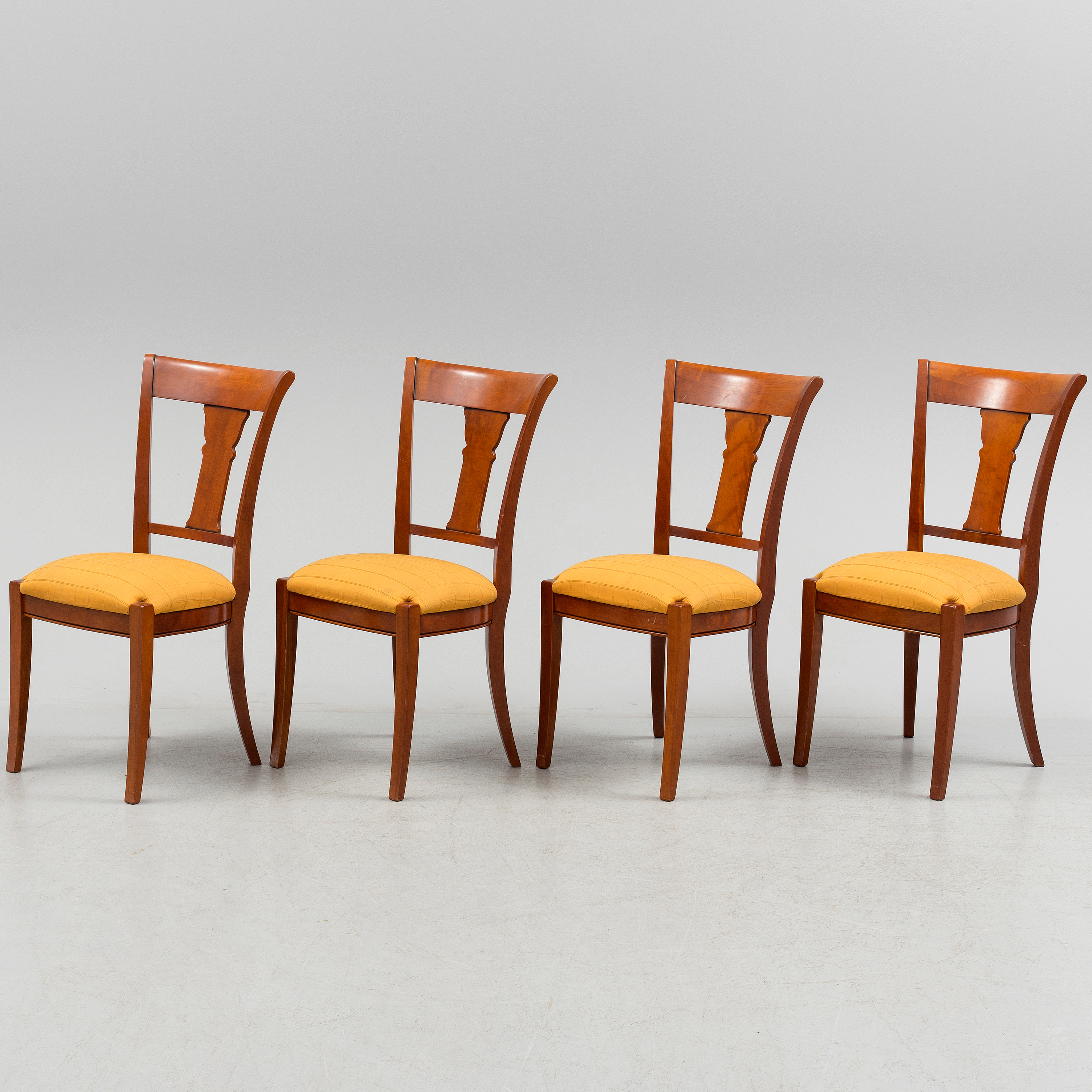 Four Chairs From Grange France Late 20th 21st Century Bukowskis # Table Grange France