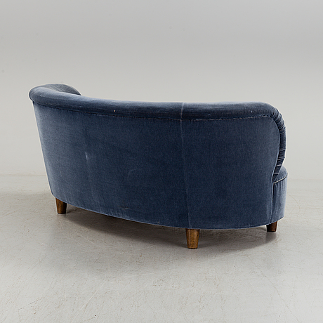 Otto schulz, attributed to, a swedish modern sofa, 1940-50's.