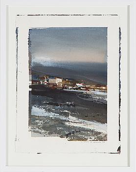 LARS LERIN, akvarell på papper, signerad Lars Lerin och daterad -91 med blyerts.