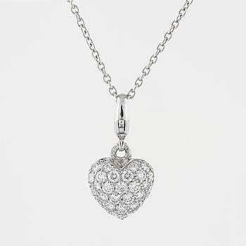 CARTIER, hänge med briljantslipade diamanter.