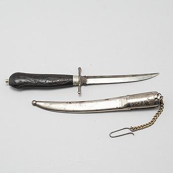 """GUSTAF JOHAN BERG, kniv, """"No 38"""", Eskilstuna, verksamt kring 1863-1891."""