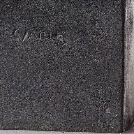 "Carl milles, ""solglitter"", ""najad på delfin"" ( = naiad and dolphin)."