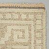 "Märta måås-fjetterström, a carpet, ""vita spetsporten"", knotted pile in relief, ca  177,5 x 121 cm, signed mmf."