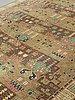 "Märta måås-fjetterström, a carpet, ""örtagården"", knotted pile, ca 361,5 x 300,5 cm, signed mmf."
