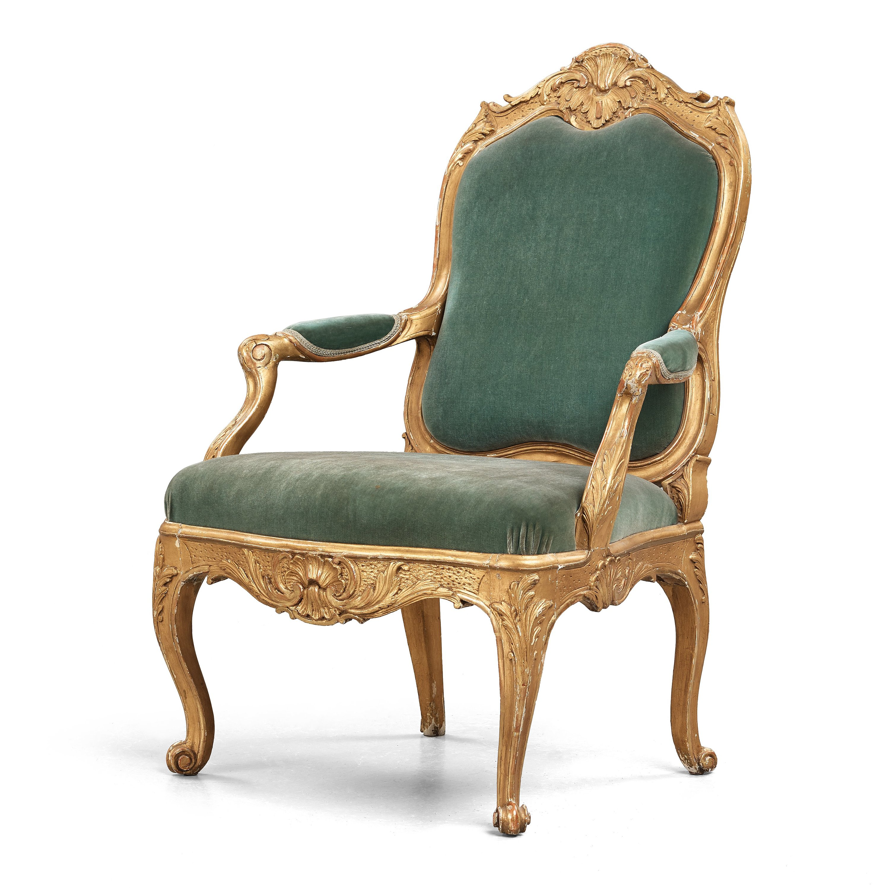 A Large Swedish Rococo Armchair By Carl Magnus Sandberg (master In  Stockholm 1759 1789), Circa 1760.   Bukowskis