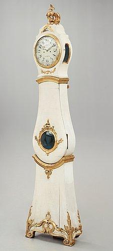 Golvur, av nils berg (urmakare i stockholm 1751-94), rokoko.