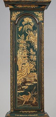 Golvur av william barrow, verksam i london 1700-1736, senbarock.