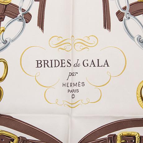 "Scarf, hermès, ""bride de gala"", issued 1957."