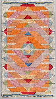 """AGDA ÖSTERBERG, matta, rölakan, """"Jakobs stege"""", signerad AÖ, 224 x 123 cm."""