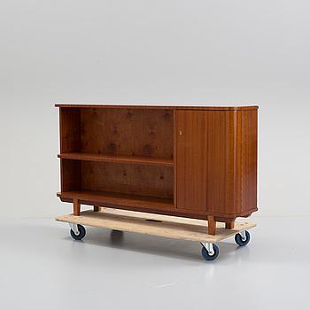 A mahogany bookcase, 1940's.