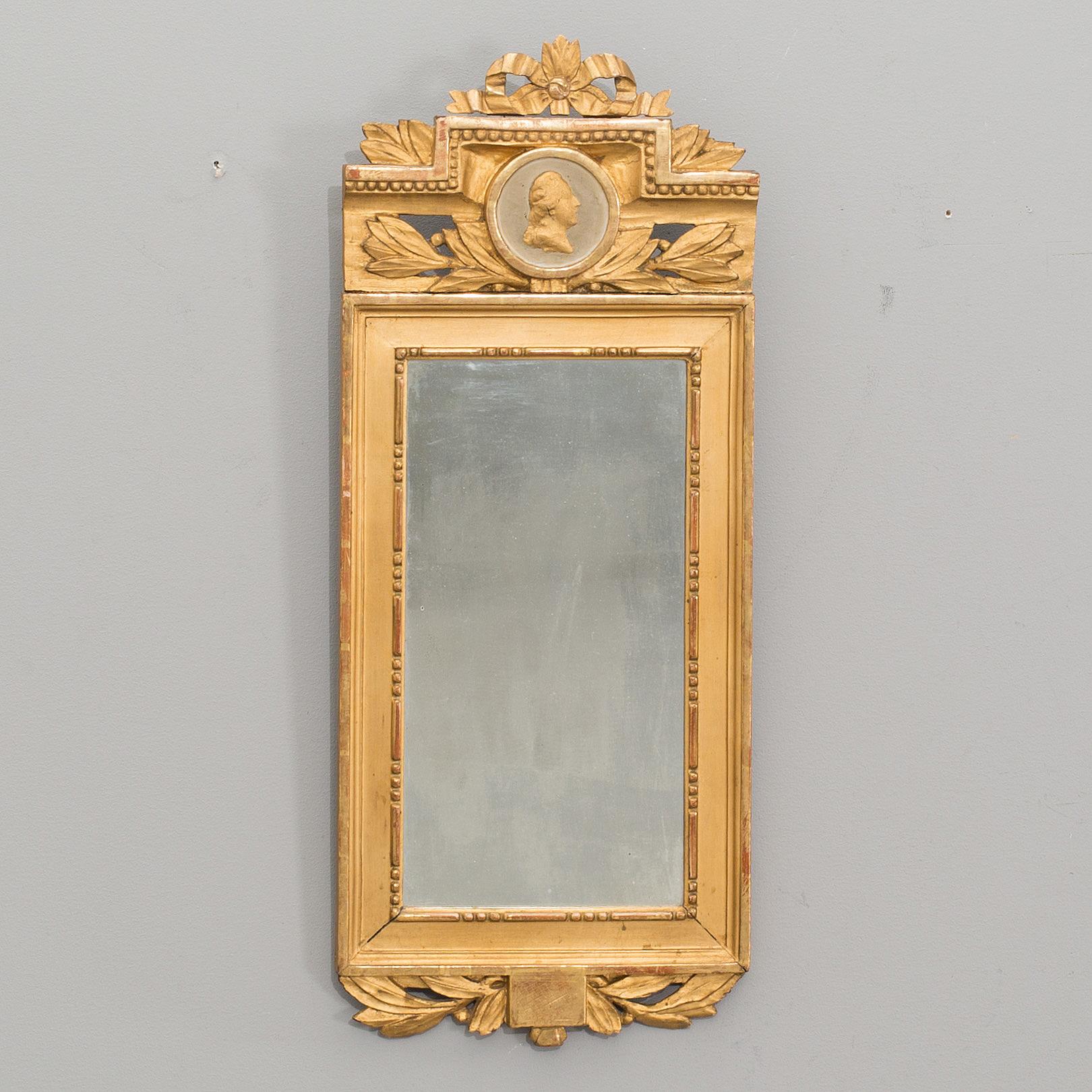 An app 1800 gustavian style mirror  - Bukowskis