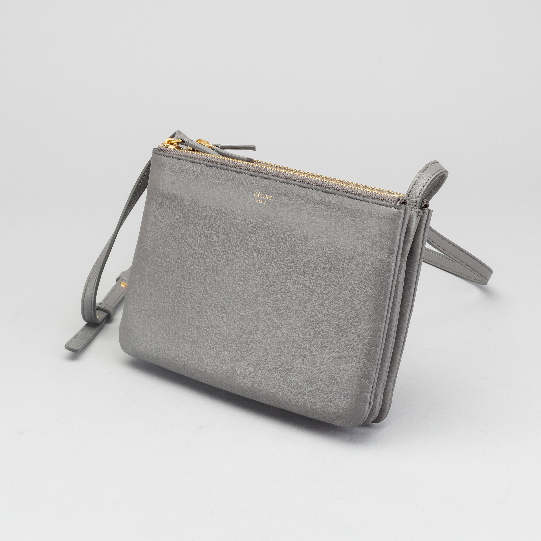 dd278bbb07 Celine Trio Bag Clutch Calfskin Pink Source · C LINE Trio handbag Bukowskis