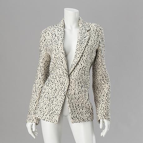 A wool jacket by céline