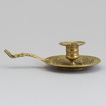 NATTLJUSSTAKE, brons, 1800-talets första hälft.