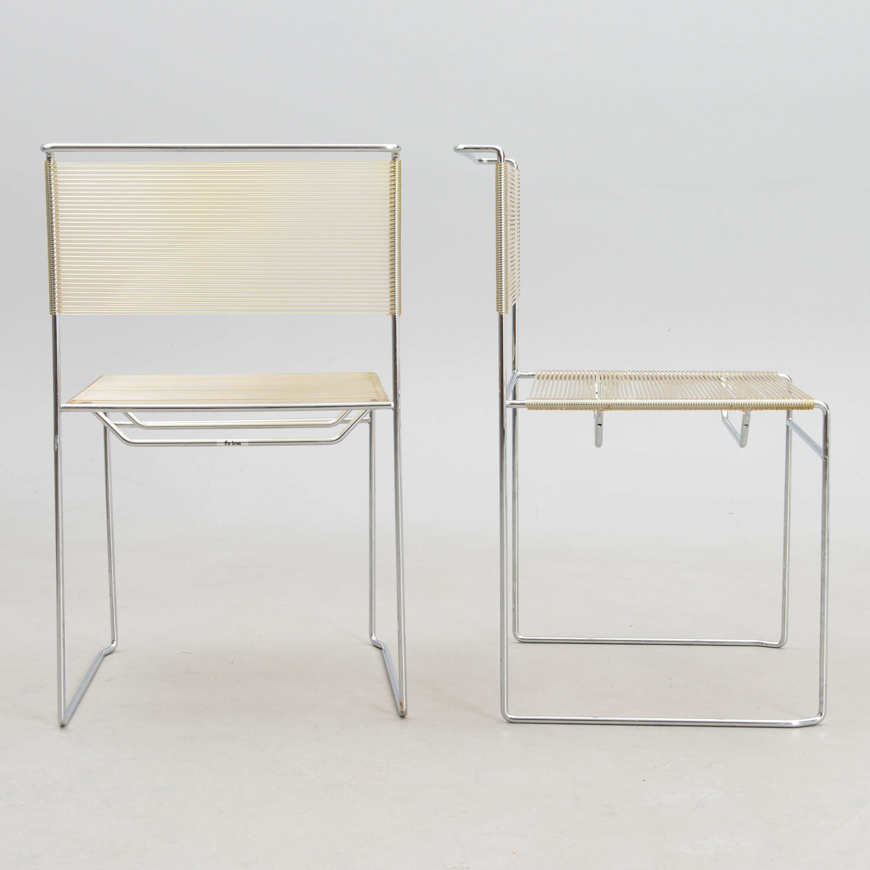 Spaghetti Chair Giandomenico Belotti.A Set Of Four Spaghetti Chairs By Giandomenico Belotti For