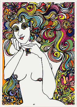 GUNILLA RUDLING, a poster from Malifax Posters, 1967.