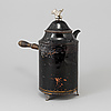 A late gustavian copper coffee pitcher  attributed to o.f richman falun early 19th century