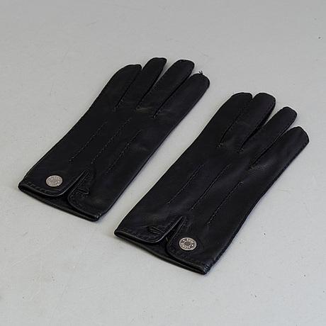 Handskar, ett par, hermès, storlek 7.