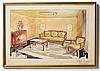 A swedish grace table by herbert anderssons möbelfabriker, 1920-30's.