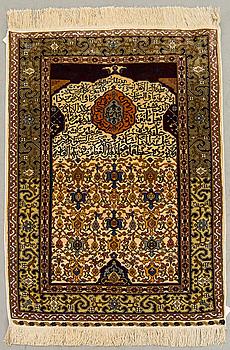 MATTA; Hereke, old silke delvis relief, ca 126 x 81 cm.