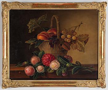 JOHAN LAURENTZ JENSEN, Hans art, olja på pannå, bär signatur, IL Jensen och daterad 1831.