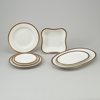 a 35 piece porcelain tablewear Eschenbach, second half of the 20th century.