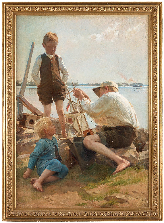 Albert Edelfelt Taideteokset